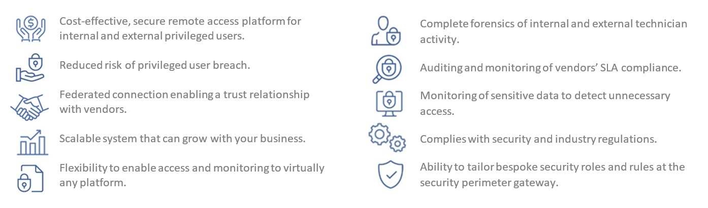 Netgard enterprises key benefits